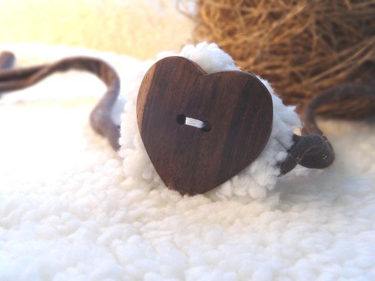 Baby Fotografie Haarband Holzherz Newborn photo shooting photo prop headband tie Kopfschmuck HANDMADE von MoniCasaExclusive auf Etsy
