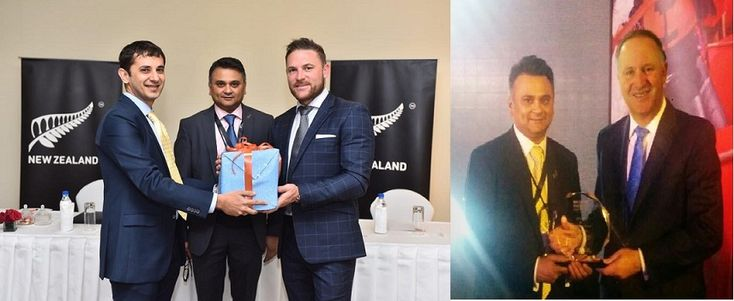 New Zealand Trade Mission to India Recognises #STAAH for Innovation and Success