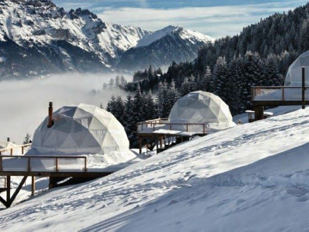 INOVAR TOUR www.inovartour.com.br : Rodeado pela imensidão dos Alpes Suíços, 15 iglus ...