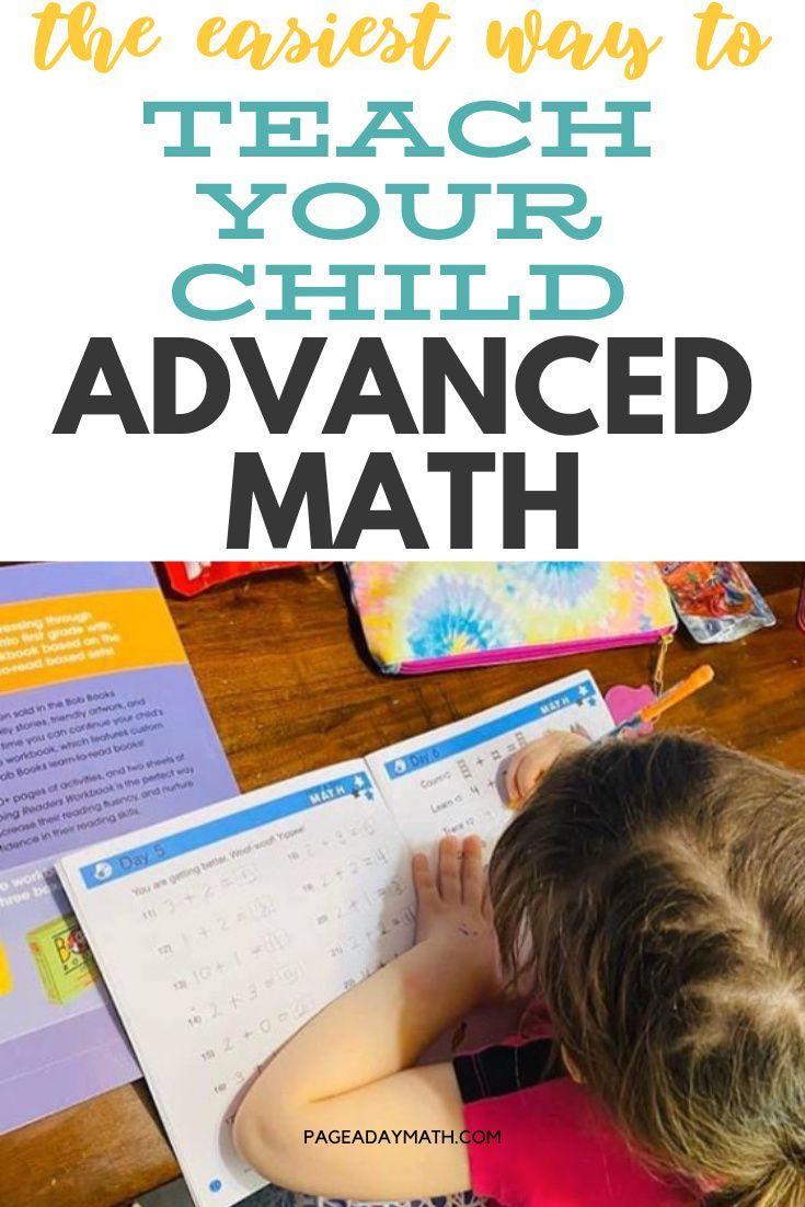 Teach Your Child Advanced Math Kindergarten Math Activities 1st Grade Math Worksheets 4th Grade Math Worksheets