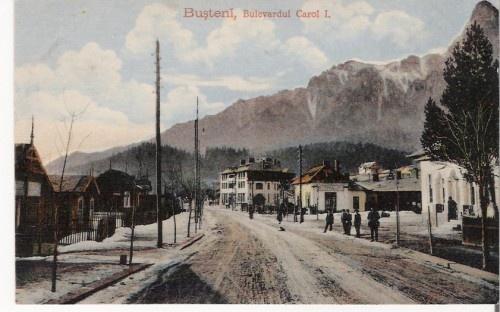 Busteni - Bd Carol I - antebelica