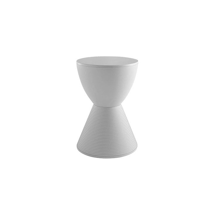 FIVEMORE | Philippe Starck Inspired Prince Aha Stool in Grey - Furniture - 5rooms.com