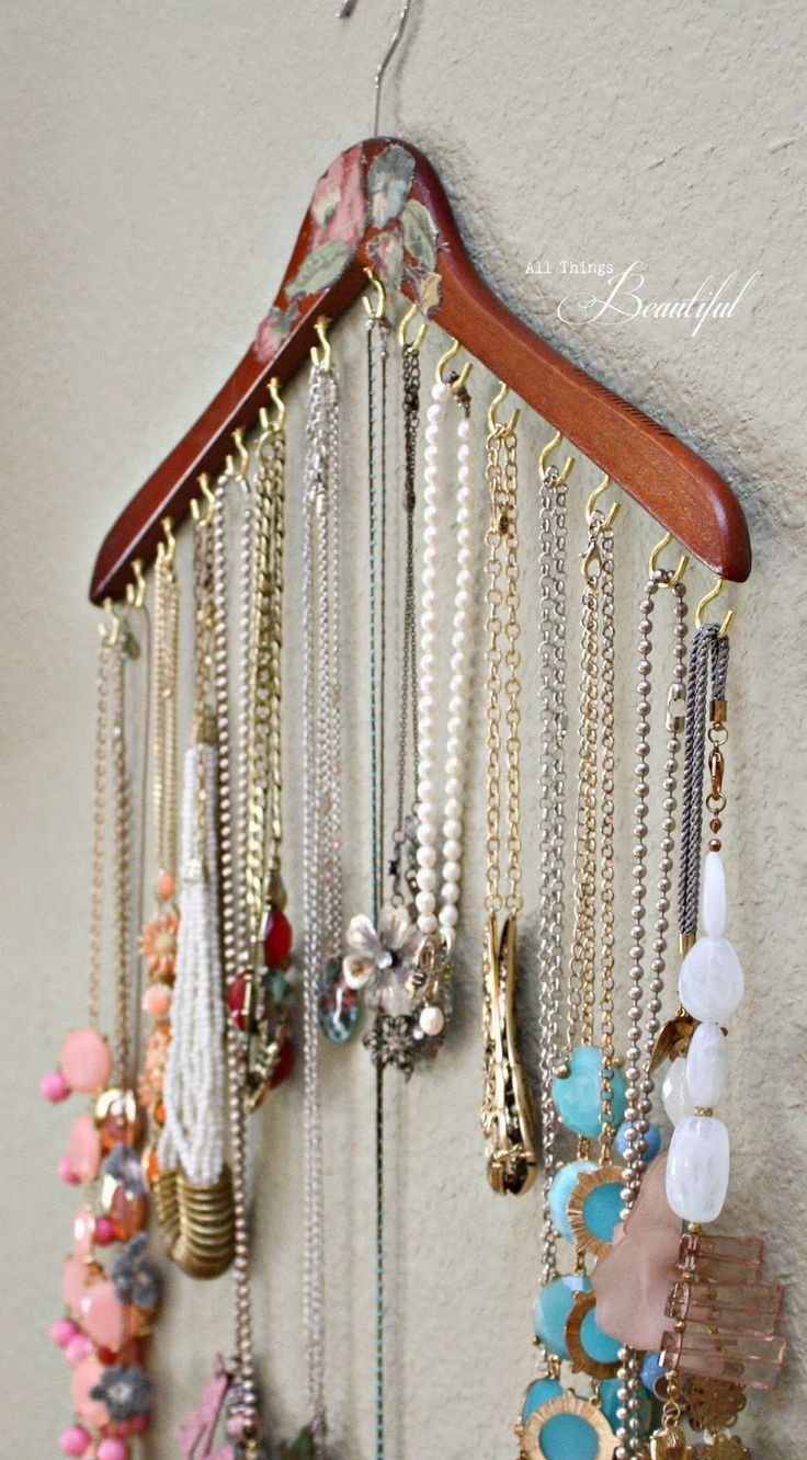 Operation: Organization 2014 ~ Jewelry Organization from All Things Beautiful …
