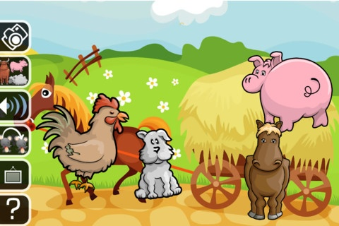 Real farm animals together - photo#38