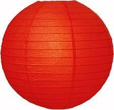 Red 6 Inch Small Paper Lantern by Luna Bazaar. $1.99. This small red paper lantern is made with the finest quality rice paper and bamboo or wire parallel ribbing. As with all our premium paper lanterns, they can be used with most ceiling fixtures and with most light cords for hanging lanterns. They can also be used with our LED battery lights as convenient, cord-free lighting and decoration for parties, weddings, patios, gardens, and outdoor celebrations. (Pleas...