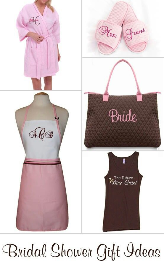 22 best personalized robes images on pinterest bridal gifts bridal shower gift ideas negle Images