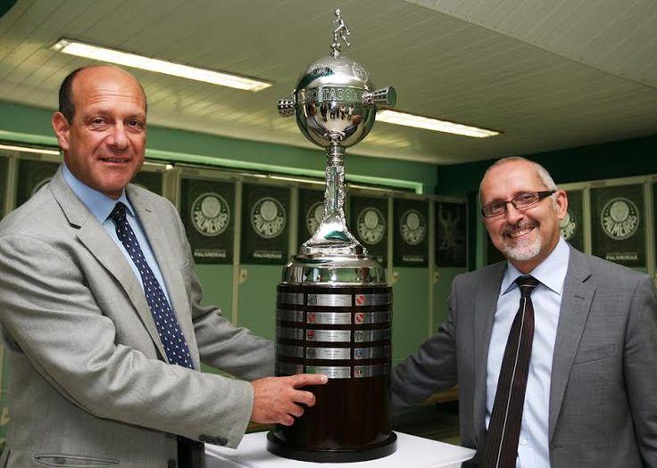 Palmeiras recebe visita do cônsul da Itália em São Paulo na Academia de Futebol...