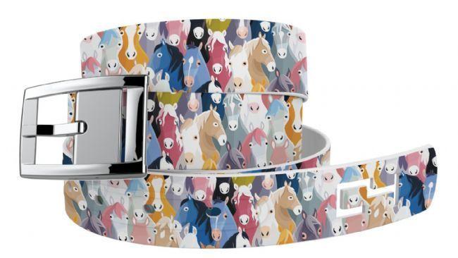 English Tack Shop - C4 Horse Heads Belt, $44.95 (http://www.englishtackshop.com/horse-belt/)