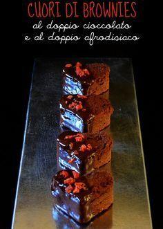 Dolce per San Valentino: cuori di brownies | Vita su Marte