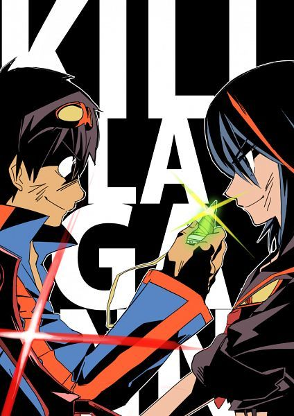 gurren Laggan and kill la kill crossover