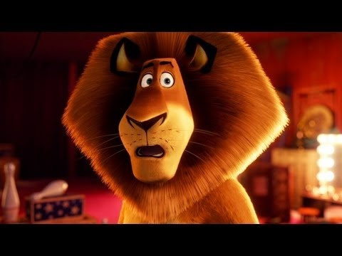 MADAGASCAR 3: Europe's Most Wanted four out of five chocolate chips.  Julian getting shot with a tranquilizer made Joshua laugh.  He says that is the funniest scene he has ever seen.  And there is no sweeter sound.