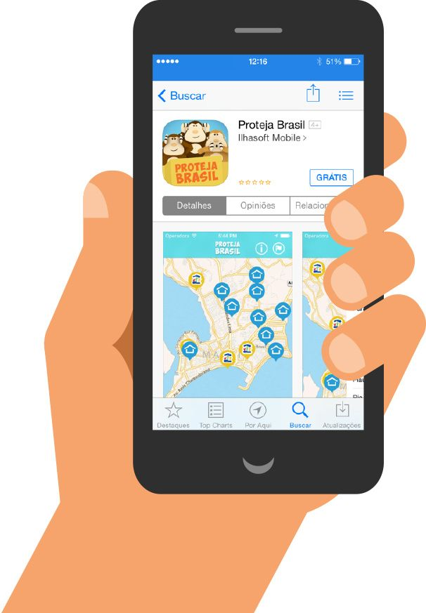 Proteja Brasil (Protect Brazil) is an application for smartphones and tablets created to enable reports of violence against children and ado...