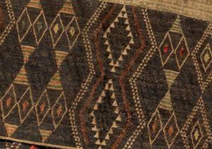 Taniko pattern, huaki cloak with three taniko borders, courtesy of National Gallery of Australia, Canberra (2007.616);