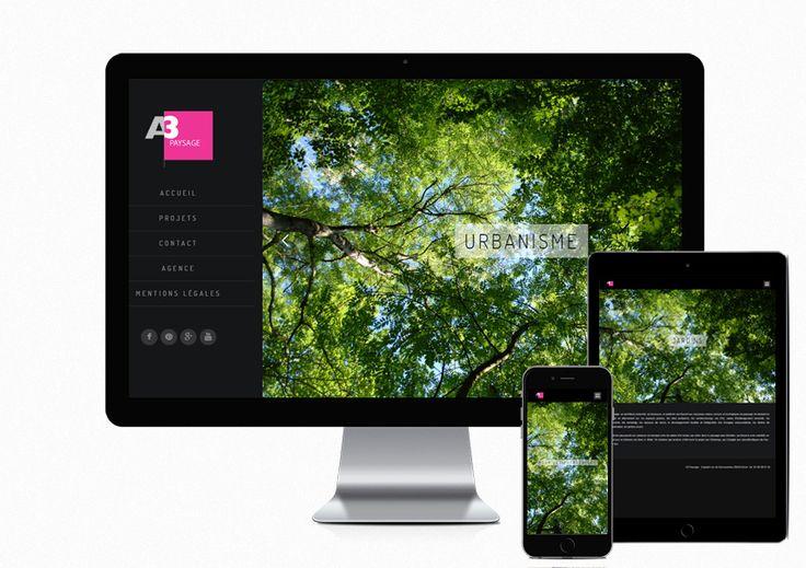 Création du nouveau site internet du paysagiste A3 Paysage à #brest http://www.a3paysage.com