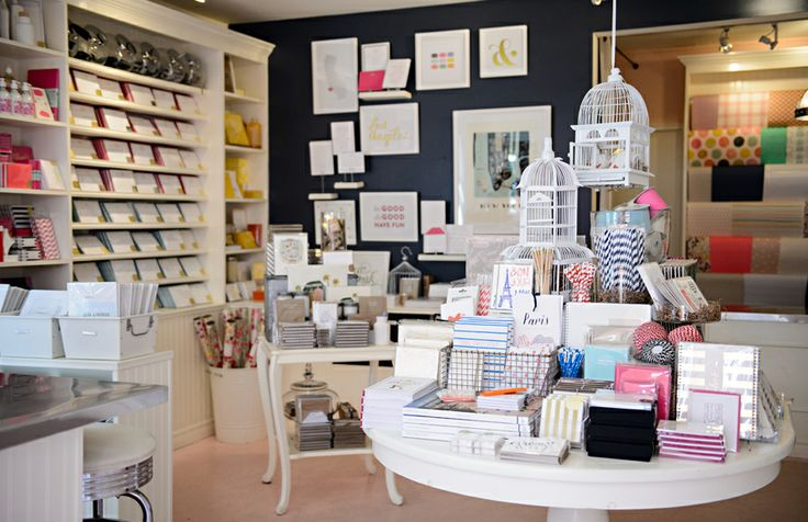 Sugar Paper Retail Store, Brentwood Country Mart | Dream stationary store
