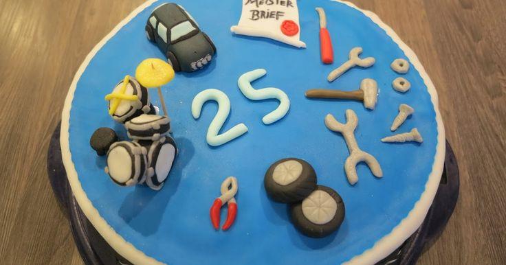 Ich durfte eine Torte für einen jungen Mann backen.   Er hat erst vor kurzem seinen Meister als KFZ-Mechaniker gemacht, liebt seinen Audi,...