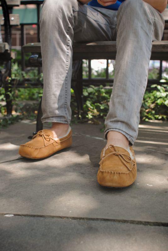 UGG Australias Moccasin Slippers For Men The Olsen