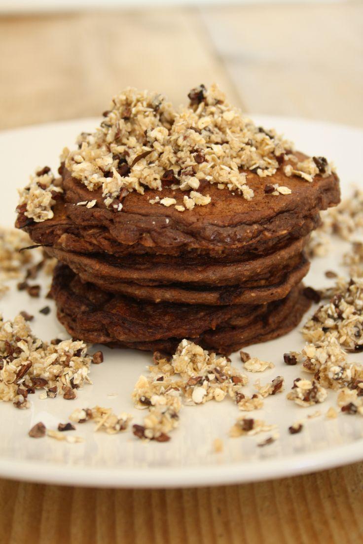 Choco-pannenkoekjes met cruch