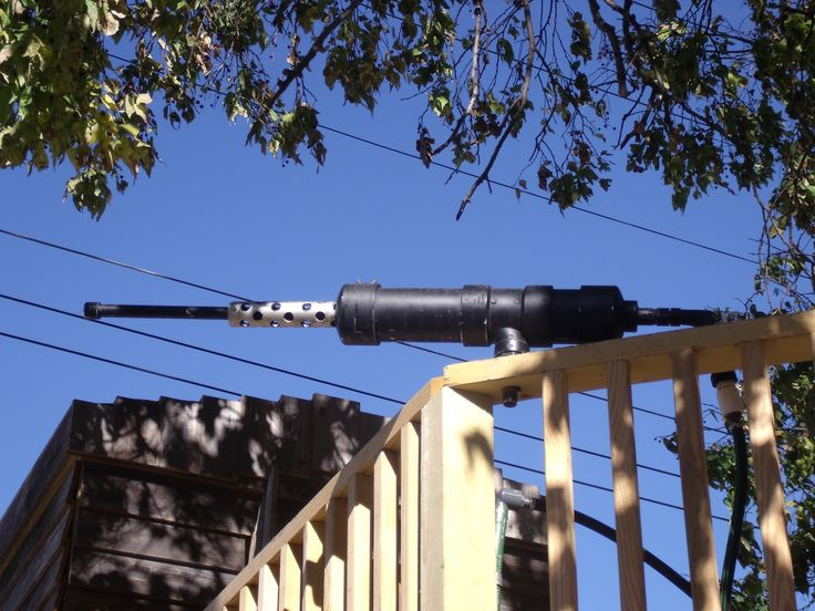 Diy Water Cannon For Play Fort Landscaping Company Diy