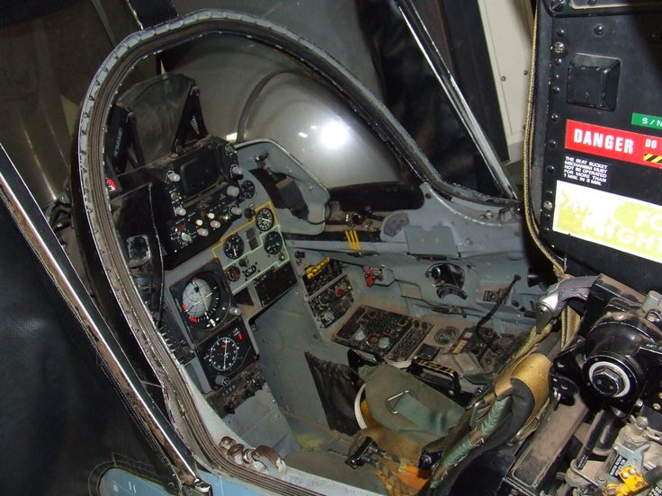 Mirage fighter plane cockpit. The ultimate office