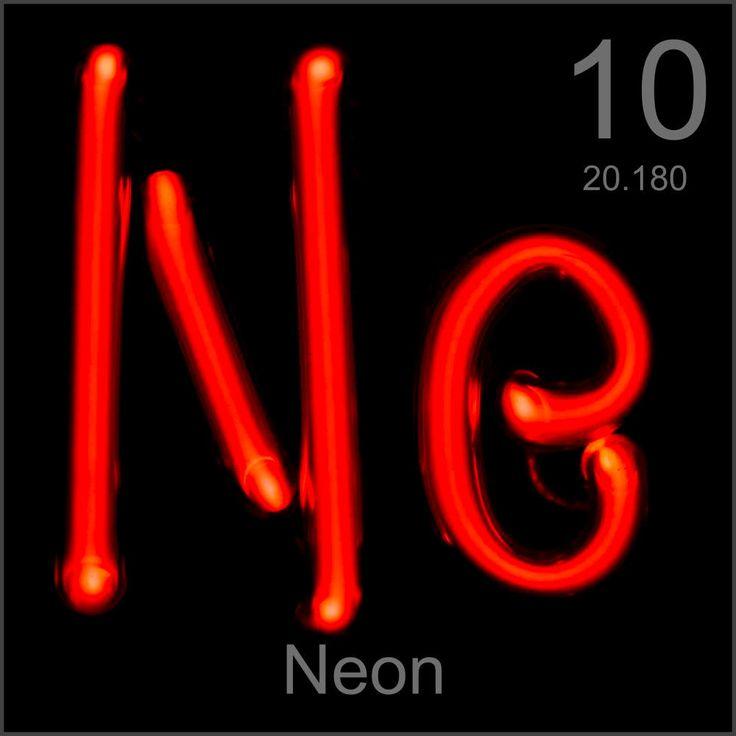 Neon Elemento quimico - 10 Ne