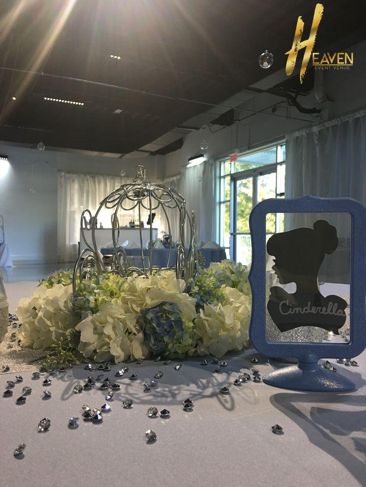 Cinderella carriage centerpiece http://heaveneventvenue.com/