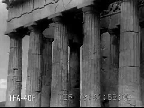 The Travel Film Archives' clip, circa 1940s, of the glories of Ancient Greece and Athens.