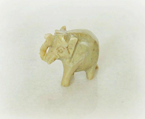 Soapstone elephant carved elephant elephant figurine