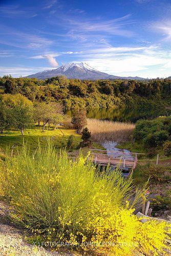 Volcan Calbuco - Reserva Nacional Llanquihue, Patagonia, Chile