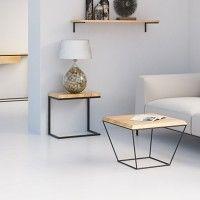 DIAMENTOWY stolik kawowy w stylu skandynawskim, filtr