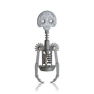 Day of the Dead Corkscrew from Crate and Barrel, really for the holiday, but has a steampunk effect.