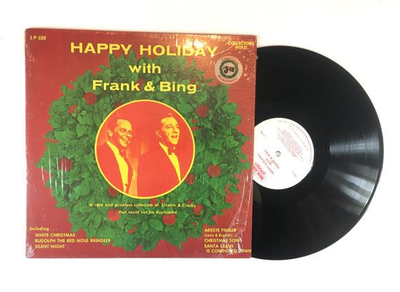 Frank Sinatra & Bing Crosby ‎– Happy Holiday With Frank & Bing  Label: Collectors Gold ‎– LP-596 Format: Vinyl, LP, Compilation Country: US Released: 1980 Genre: Jazz, Pop Style: Vocal  Tracklist:  A1 Merry Xmas To You A2 Jingle Bells A3 Deck The Halls A4 God Rest You Merry Gentleman A5 Hark The Herald Angels A6 Come All Ye Faithful A7 It Came Upon A Midnite Clear A8 Away In A Manger A9 O Little Town Of Bethlehem A10 Rudolph The Red-Nosed Reindeer A11 Santa Claus Is Coming To Town A12 Xmas…