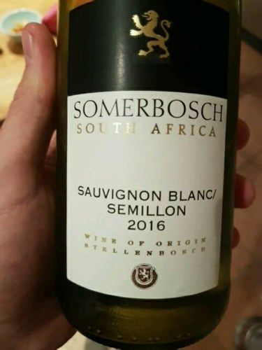 My new favourite easy drinking guzzler... For R48 a bottle it's VERY reasonable and certainly a lot better than what else you'll get for this price range. The semillon softens up the lively sauvignon blanc so the results are crisp and clean. For midweek drinking of a frugal nature look no further!