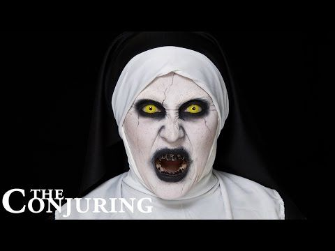 conjuring 2 valak halloween make up tutorial hatice schmidt - Halloween Tutorials