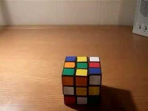 How to solve a Rubik's Cube (Part One)