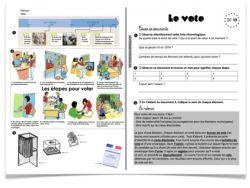 Un dossier par semaine : Le maire ; le vote