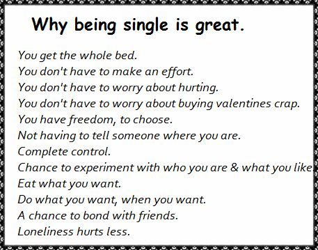 Single On Valentines Day? Read If You Wanna Know Why Being Single Is Great #