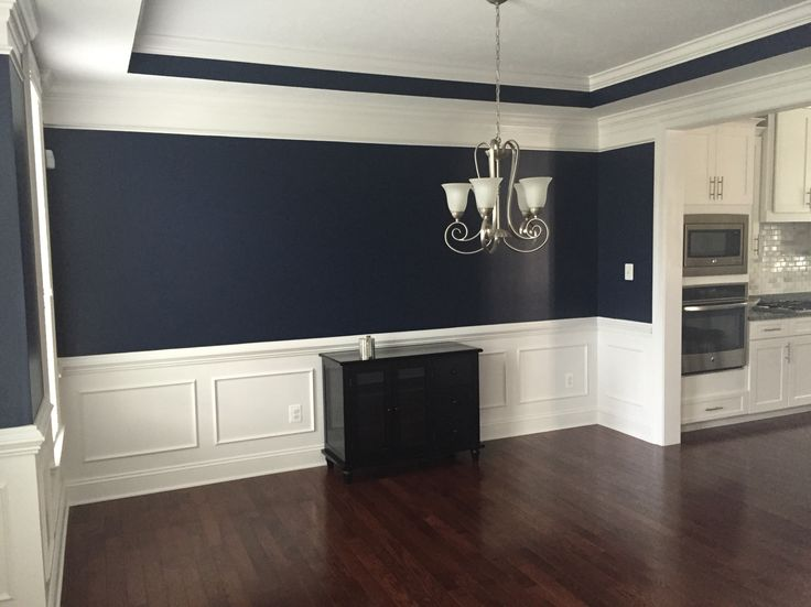 Absolutely Love This Navy Blue Color In Our Dining Room. Sherwin Williams  Naval 6244 From