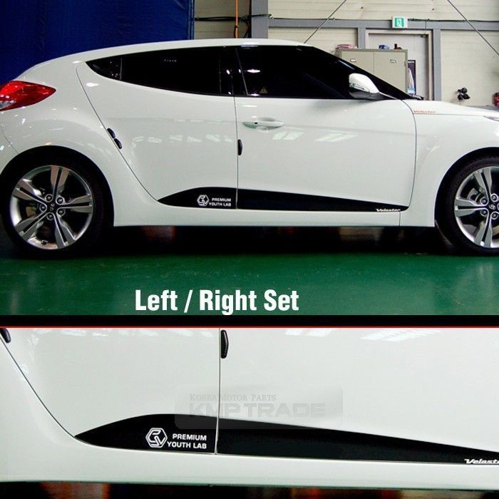 Carbon Rear Bumper Protector Decal Sticker Cover for HYUNDAI 2011-2017 Veloster