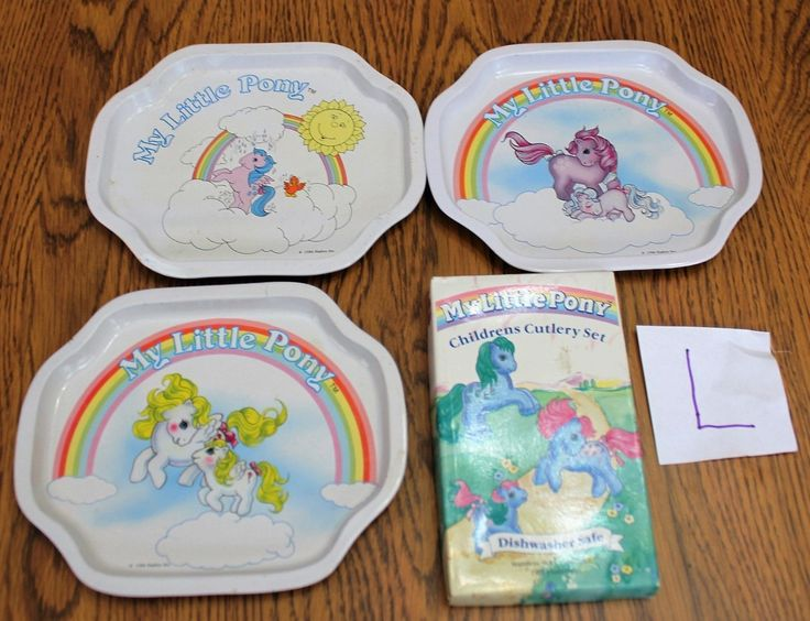 MLP G1 Childrens Cutlery Set And 3 Trays L
