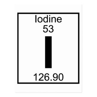 This is Iodine. Atomic Number: 53 Atomic Mass: 126.90