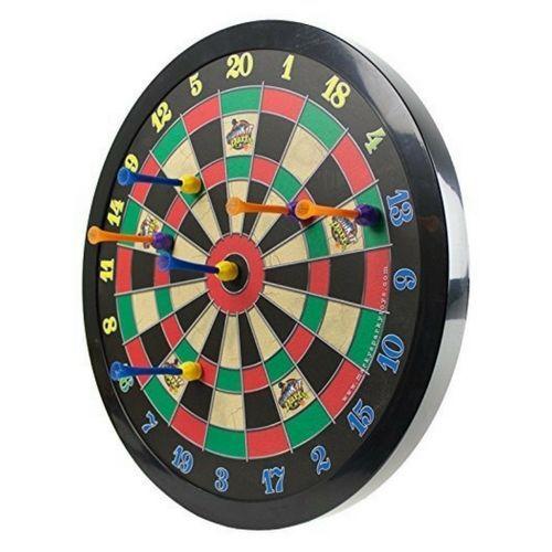 Magnetic Dart Board Set Fun Sports Kids Adult Office Safe Home Game Room #MagneticDartBoard