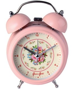 I had a wind up clock like this when I was in high school...it was a pink Timex was the only thing that could wake me up.