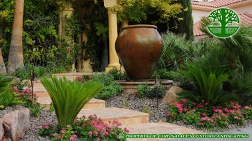CHIP-N-DALE'S CUSTOM LANDSCAPING FOUNTAINS - mediterranean - landscape - las vegas - CHIP-N-DALE'S CUSTOM LANDSCAPING