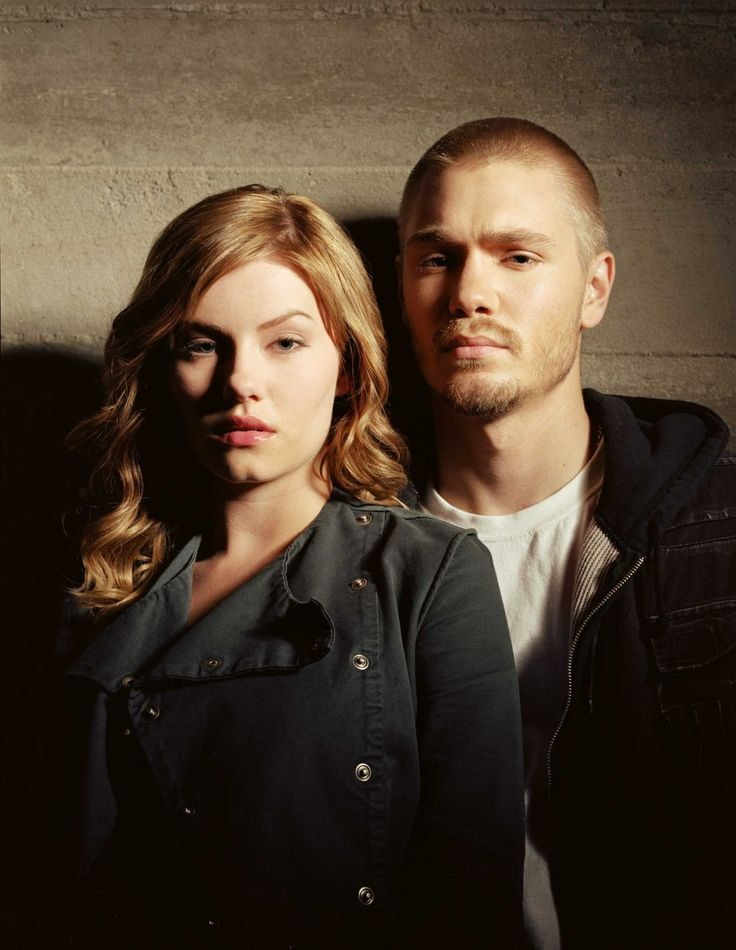 Elisha Cuthbert y Chad Michael Murray en House of Wax
