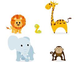 Resultado de imagen para animales bebes animados tiernos