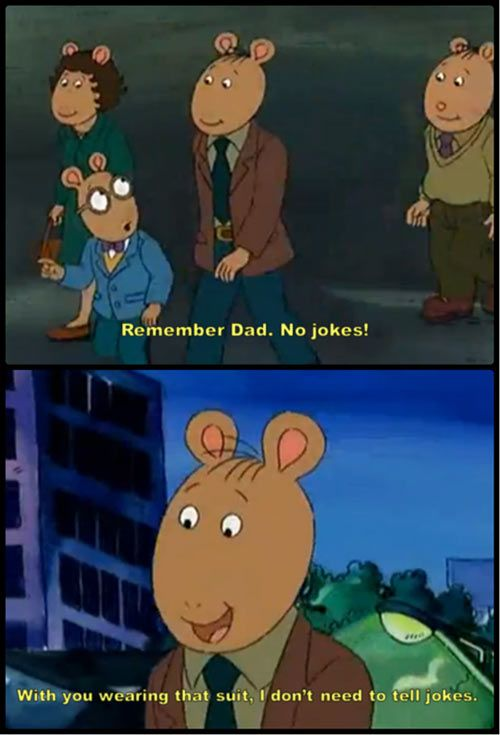 Arthur's dad is kind of a scumbag… (reposting for the previous descriptions lol)