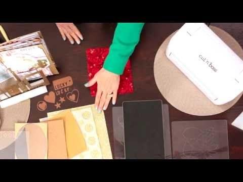 ▶ Teresa Collins Cut'n'Boss: Cutting Materials - YouTube