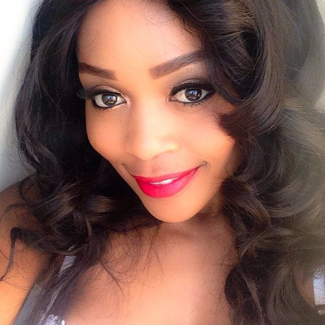 Up close and personal with Thembi Seete.