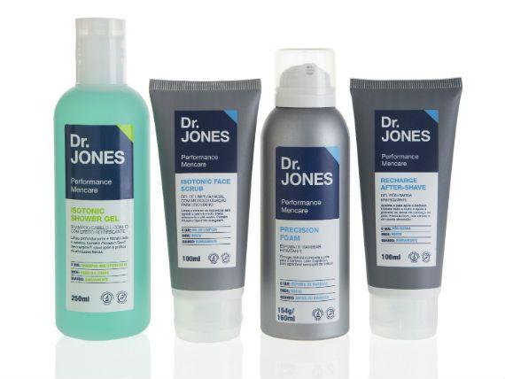 Dr. Jones é Nova Marca de Cosméticos Masculinos